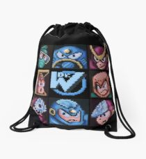 Mega Robot Bosses 2 Drawstring Bag