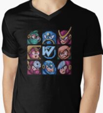 Mega Robot Bosses 2 Men's V-Neck T-Shirt