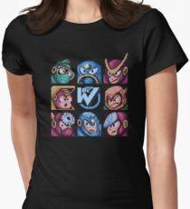 Mega Robot Bosses 2 Women's Fitted T-Shirt