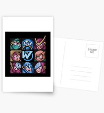 Mega Robot Bosses 2 Postcards