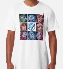 Mega Robot Bosses 2 Long T-Shirt