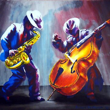 Funky Duel between Sax and Bass by NekarXenos