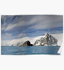 Elephant Island South Shetland Islands Group Poster