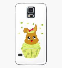 freches Zitronen Cupcake Hülle & Klebefolie für Samsung Galaxy