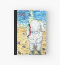 Pooky Dolphin Watching at Sunset Hardcover Journal