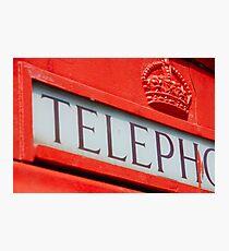 Telepho.. Photographic Print