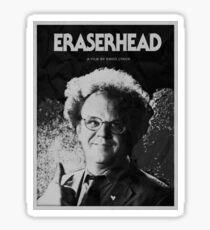 Dr. Steve Brule x Eraserhead parody Sticker