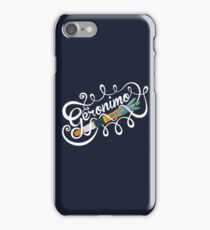 Doctor Who Geronimo! iPhone Case/Skin