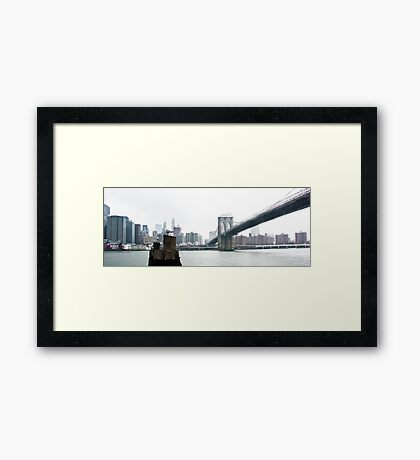A short time of solitude Framed Print