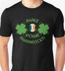 Shake Your Shamrocks Tee | Irish St Patricks Day Gift Shirt Unisex T-Shirt