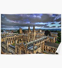 All Souls College, Oxford University Poster