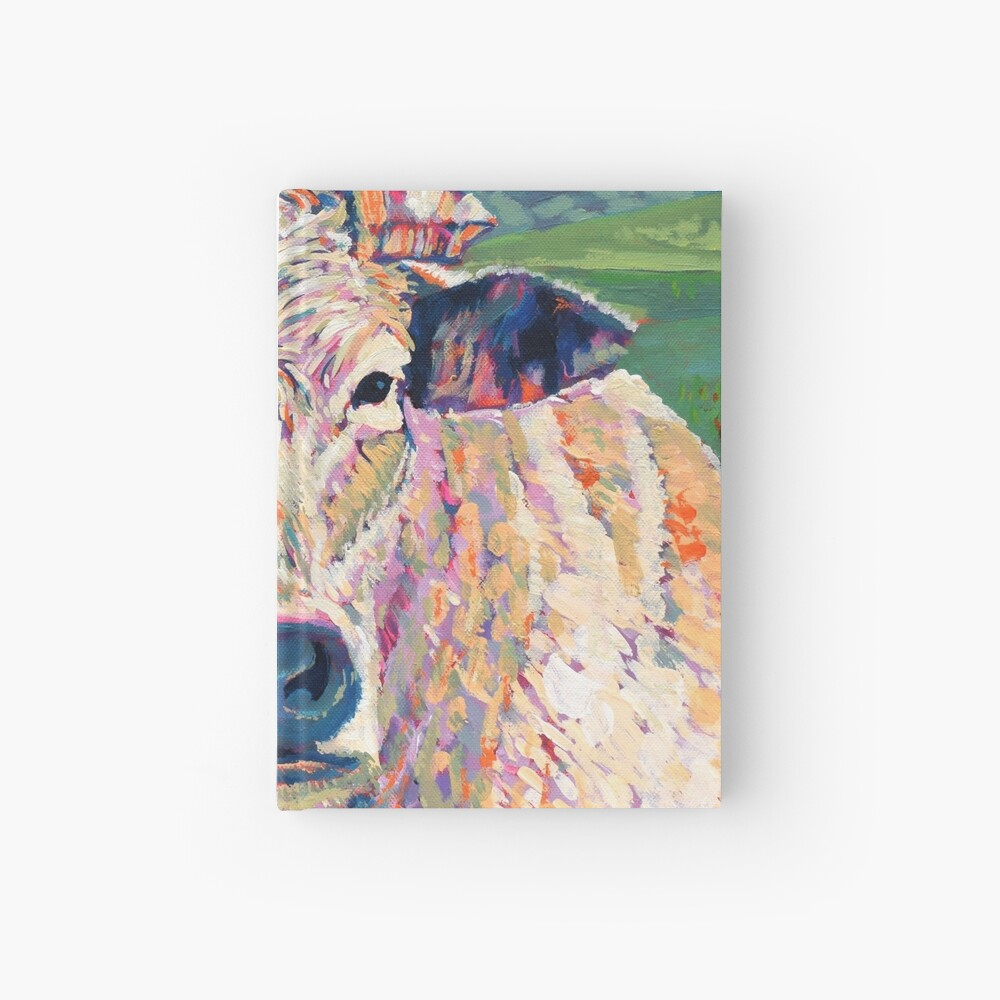 Bovine (Cow. Well, technically a bullock) Hardcover Journal