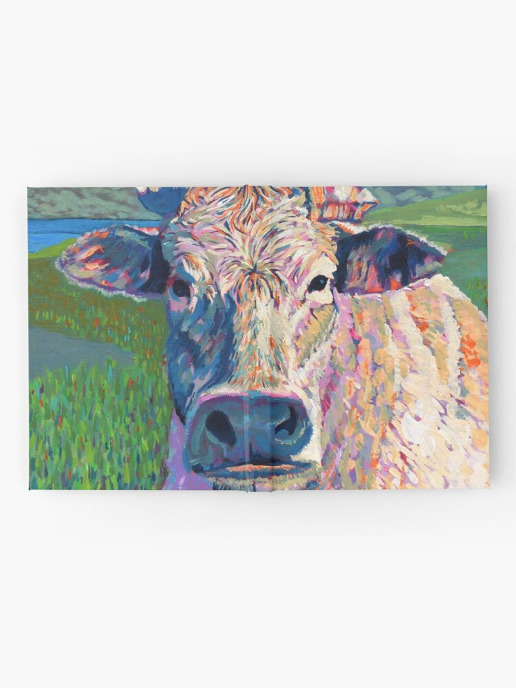 Alternate view of Bovine (Cow. Well, technically a bullock) Hardcover Journal