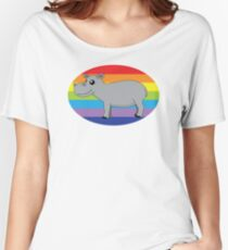 Kennedy The Hippo Women's Relaxed Fit T-Shirt