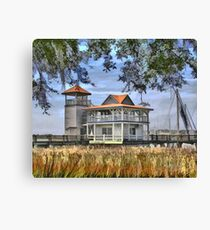 Boat House - GA Canvas Print