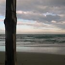 Boujaafer beach at twilight. by mariarty