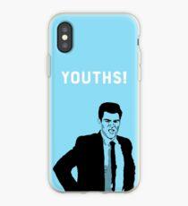 Vinilo o funda para iPhone Jóvenes