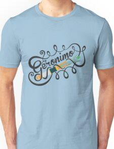 DOCTOR WHO GERONIMO BLACK Unisex T-Shirt