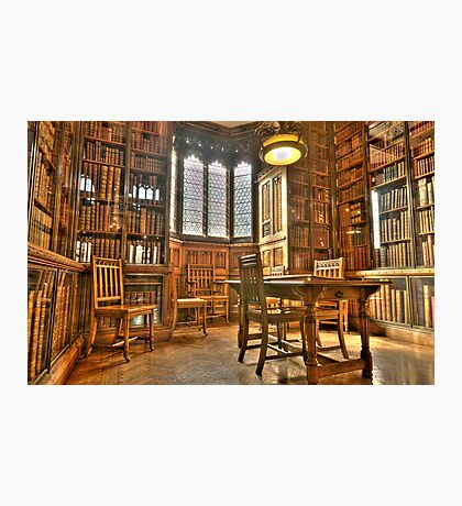 """""""Quiet Please in the Library"""" Photographic Print"""