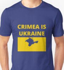 Crimea is Ukraine Slim Fit T-Shirt