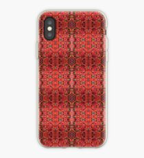 Coral Fusion Emblem Pattern iPhone Case