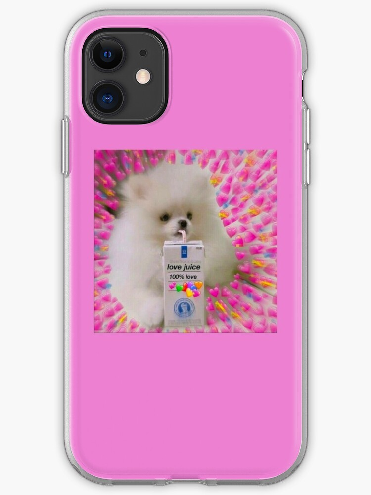 Twitter Dog Love Meme Iphone Case Cover By Doces19 Redbubble