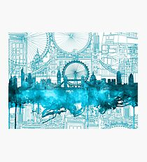 london city skyline2 Photographic Print