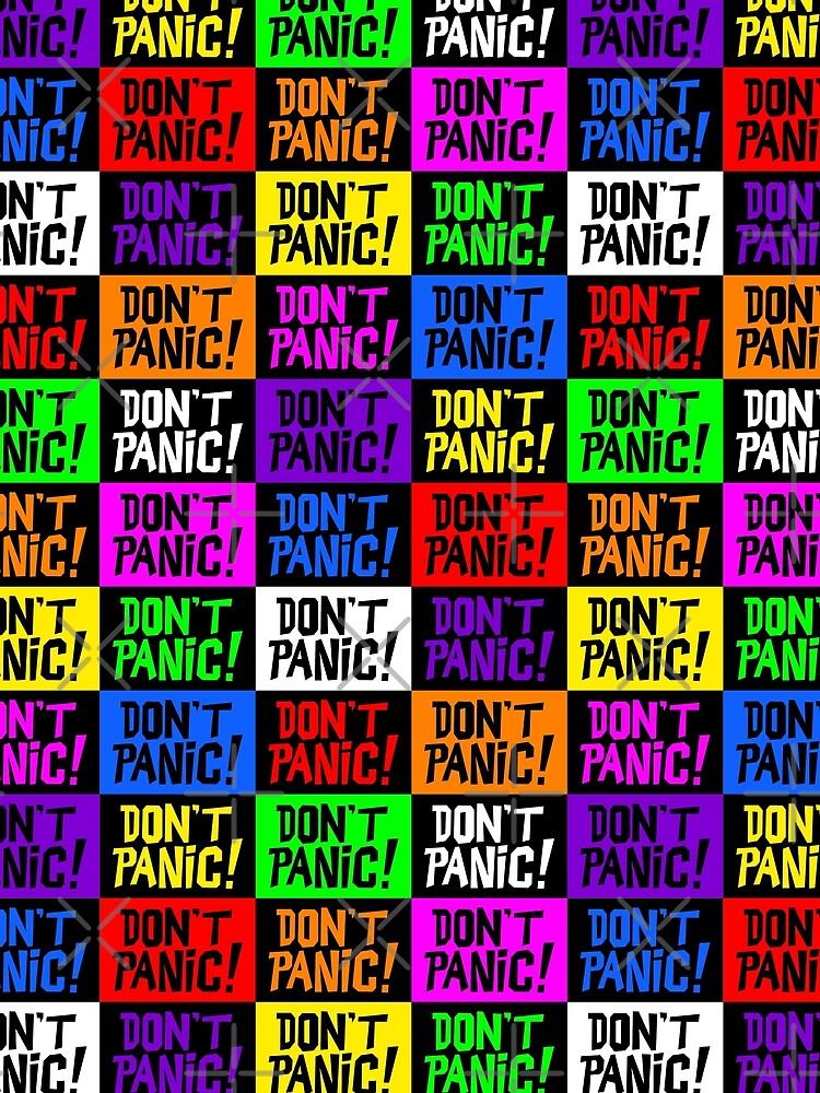 NDVH Don't Panic - Multicoloured by nikhorne
