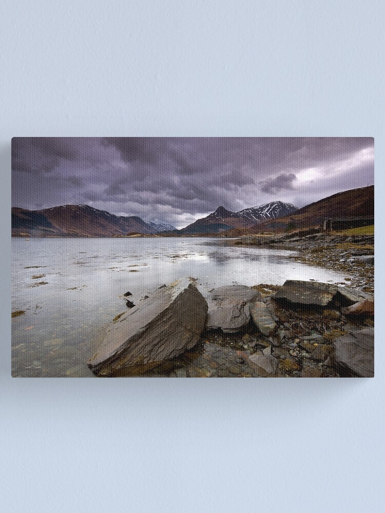 Alternate view of Loch Leven Canvas Print