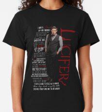 Lucifer Morningstar Zitate Classic T-Shirt