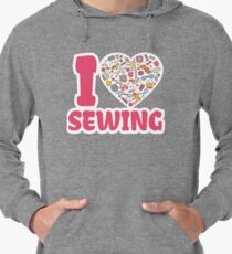 I love SEWING Lightweight Hoodie
