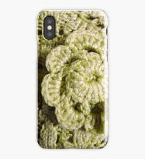 Green Crochet Flower iPhone Case/Skin
