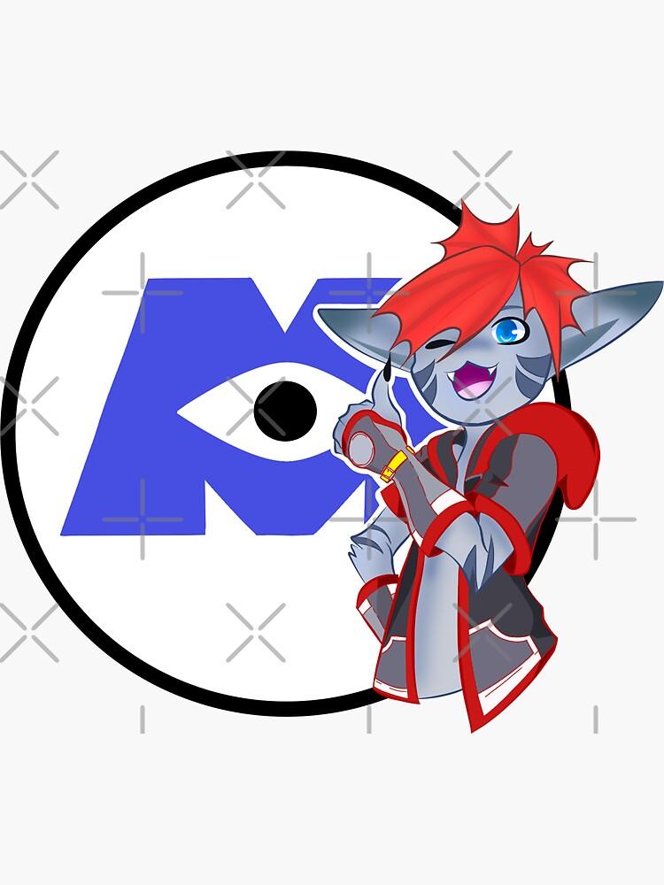 Kingdom Hearts 3: Sora Monster Inc. Logo by justjakk