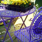 Purple Seating by AuntDot