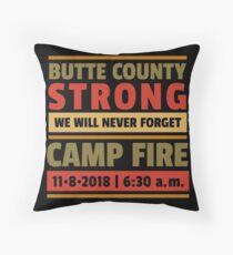 Paradies stark, Kalifornien Waldbrände, Butte County starke Überlebende T-Shirts und Geschenke Dekokissen