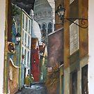 Rue St. Rustique à Montmartre by Sandy Taylor
