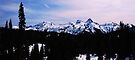 Tatoosh Mountain Range by Tori Snow