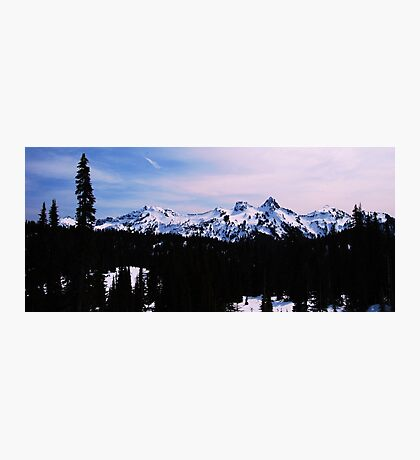 Tatoosh Mountain Range Photographic Print
