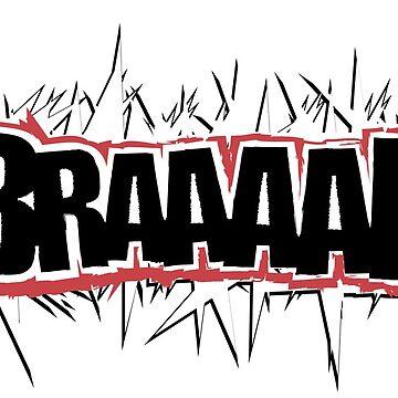 Braap Braaap Braaaap! Hold on and send it. by vectorbay