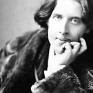 Oscar Wilde Black and White by Dalton Rowe