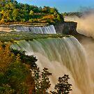 Sunrise Over Niagara - Niagara Falls by JHRphotoART