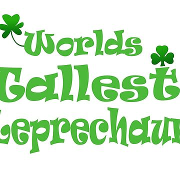 Funny Irish worlds tallest leprechaun St Patricks by headpossum