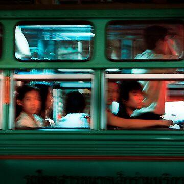 Chinatown Bus Bangkok by Vertigo