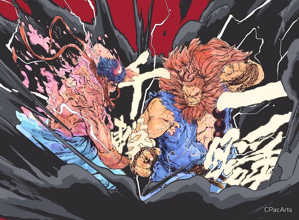 The Raging Demons Kage Evil Ryu Vs Akuma Street Fighter