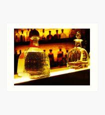 Bottle of Patron Tequila Reposado Art Print