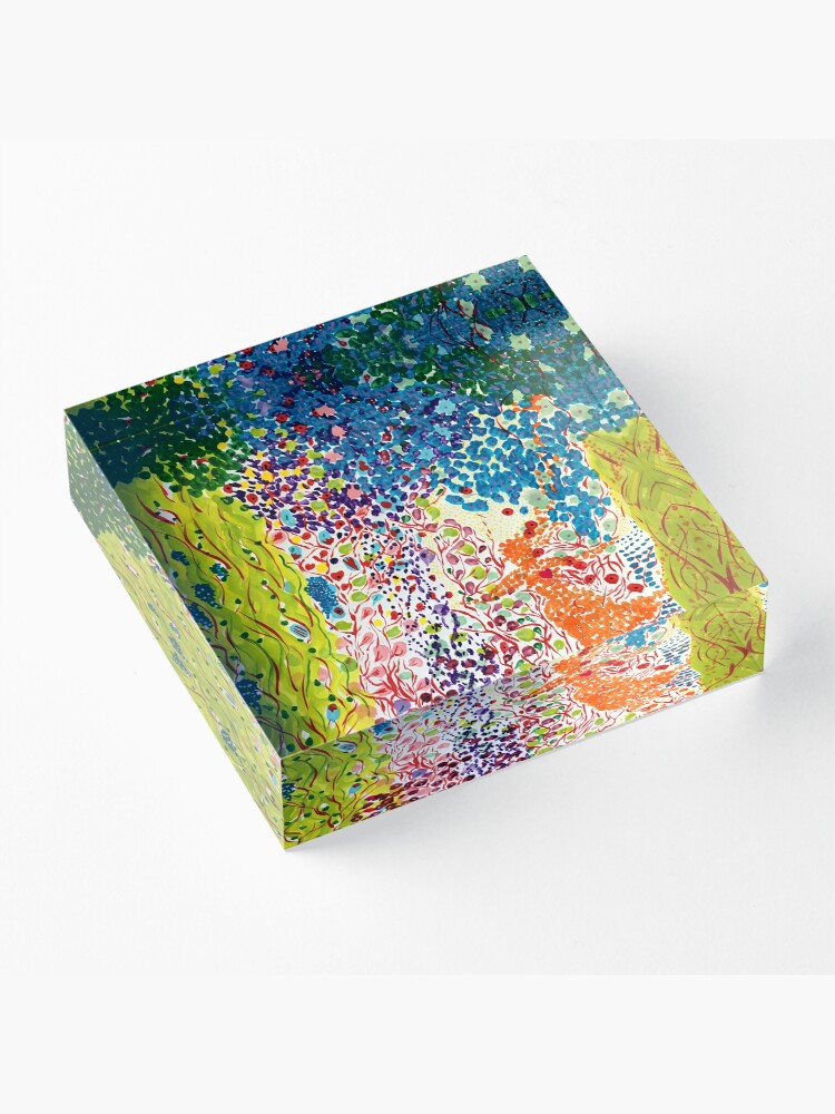 Alternate view of Siren Spring Acrylic Block