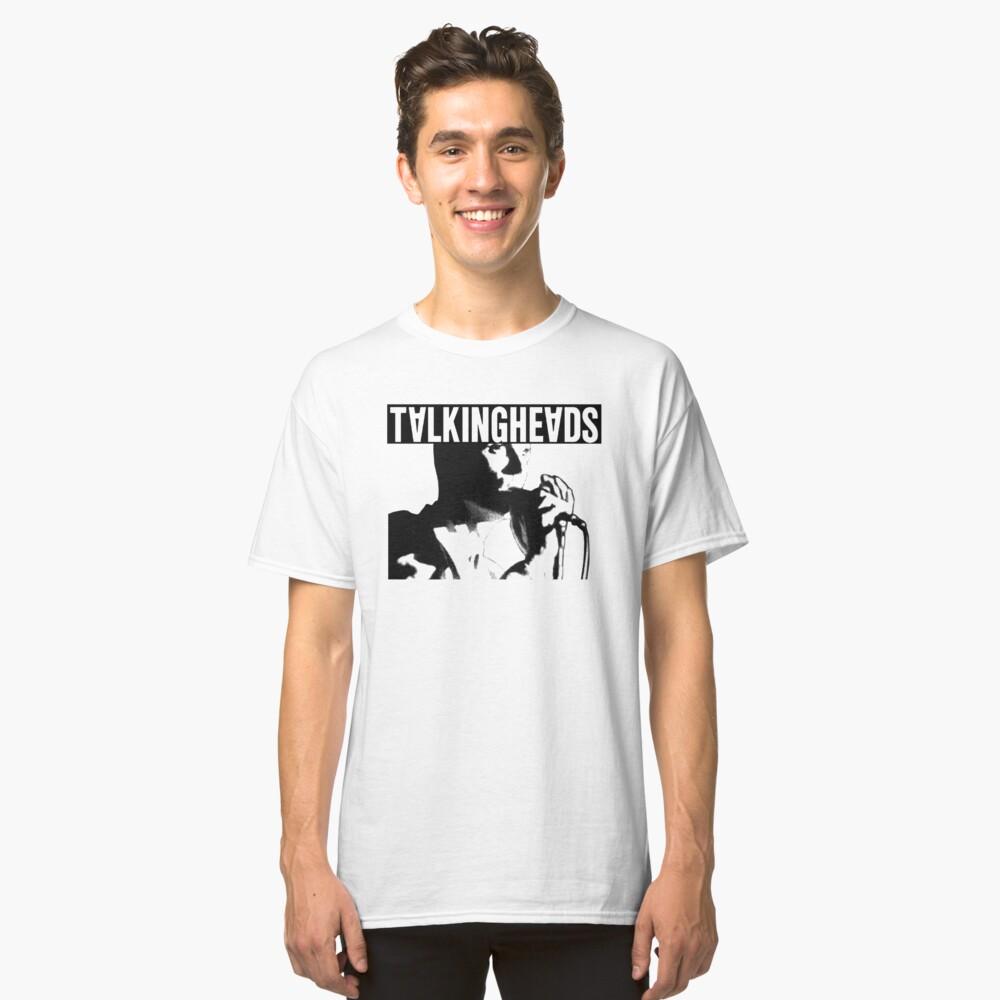 Camiseta clásicaCamisa de cabezas parlantes Elio Delante