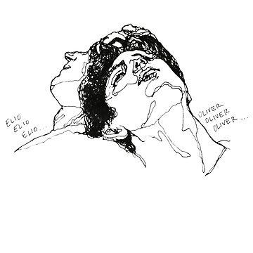 Arte de la línea de Elio Oliver CMBYN de nicoloreto
