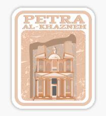 Petra Al- Khazneh Sticker