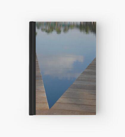 Blue V Hardcover Journal